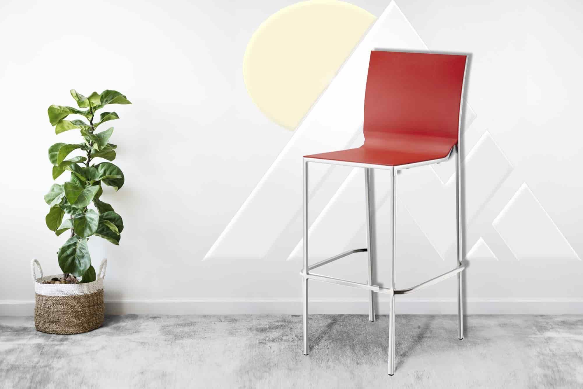 plastic stool chair